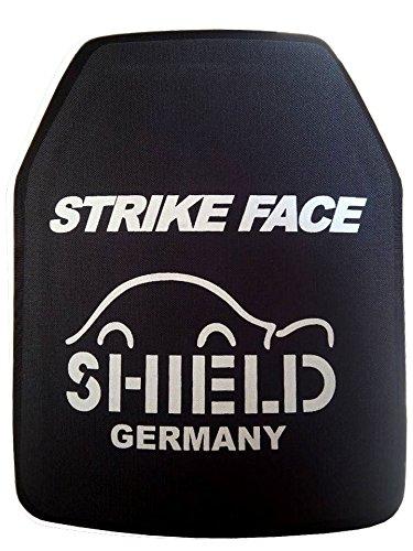 SHIELD SK4 / NIJ IV Platte Schutzplatte, STA (Stand Alone) Einschubplatte für schusssichere Weste oder Plattenträger