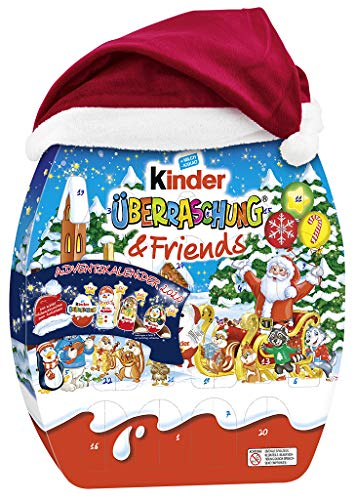 kinder Überraschung und Friends Adventskalender, 1er Pack (1 x 431 g)