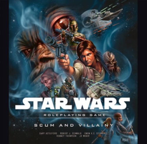 Star Wars: Scum and Villainy: A Star Wars Roleplaying Game Supplement