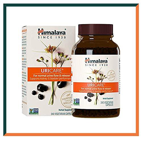 Himalaya UriCare - Suplemento herbario sin cafeína para el riñón y el tracto urinario - 840 mg (240 Caps - 2 Mes de Suministro)
