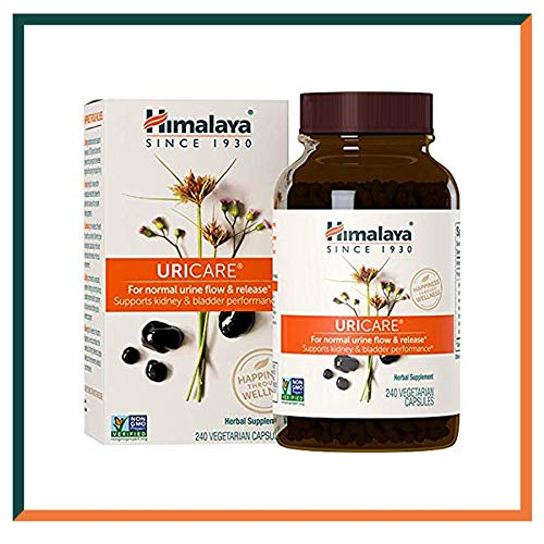 Himalaya Uri Care Caffeine-Free Kidney and Urinary Tract Support Tablets with 100% natural ingredients Effective & gentle on your system -840mg, 240 Capsules