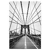 artboxONE Poster 30x20 cm Städte/New York Netz von New