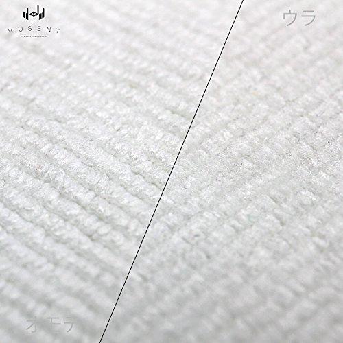 『MUSENT システム クリーニング クロス| ギター ベース ピアノの お手入れ 指紋の 拭き取りに | MSSMFCL0030-WHT』の4枚目の画像