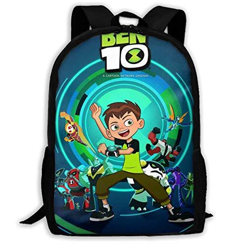 KDRW Zaino per il tempo libero Zaino Borsa da viaggio Borsa per computer Borsa da scuola B_en 10 3D Printing Daily Bag Leisure Hiking Bag Hiking Bag Outdoor Daypack for Adult