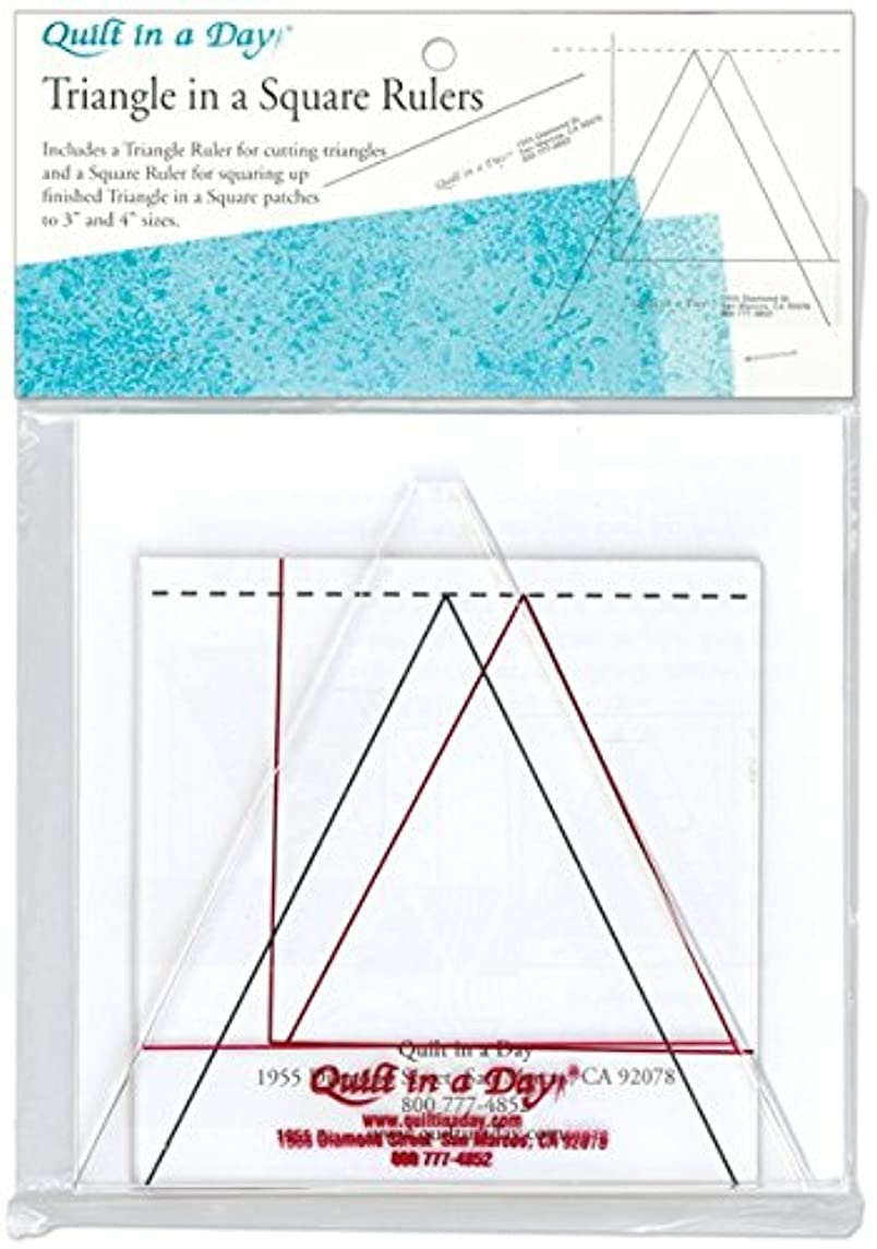 Quilt In A Day Triangle in a Square Ruler