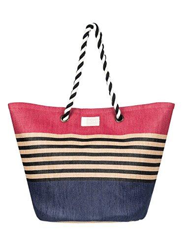 Roxy Sunseeker Bolsa de tela y de playa, 48 cm, Deep Cobalt Solid Multicolor