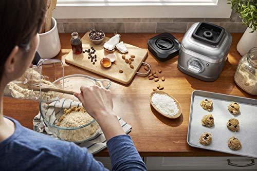 KitchenAid KSB4027CU K400 Countertop Blender, 56 OZ, Contour Silver