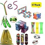 ZCOINS Paquet de 13 Jouets pour Violon Jouets sensoriels pour autisme Fidget Toys Soulagement du Stress Soulagement de l'anxiété pour Adultes et Enfants