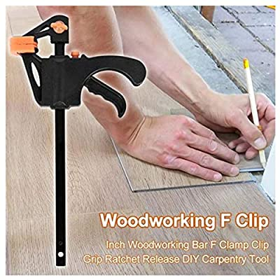 2 x 910mm Wood Working Bar F Clamp Clamps Grip ...
