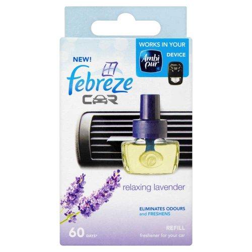 AMBIPUR FEBREEZE Car Refill Lavender 7ML
