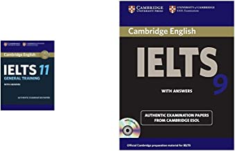 Cambridge English: IELTS 11 General Training with Answers (With Audio CD) + Cambridge English IELTS 9: with Answers and 2 Audio CDs: With Answers (with CD) (Set of 2 Books)