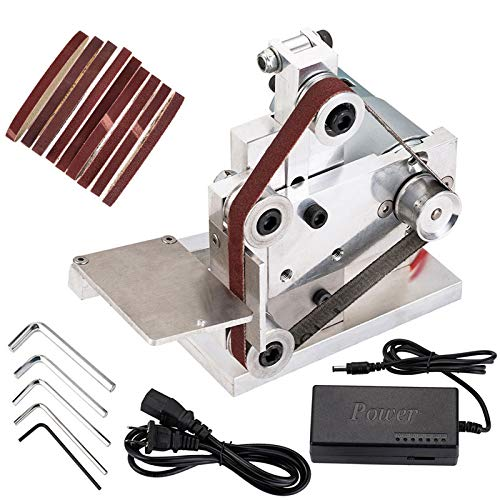 Cozyel 110V Mini Belt Sander Electric Sanding Polishing Grinding Machine