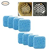 Ggdoo Hoja de Limpieza 2/8 / 12pzas Multifuncional tabletas efervescentes Washing Machine Cleaner Limpieza del hogar Lavadora descontaminación detergente tabletas