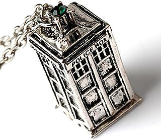 Machine /à mesurer le temps Doctor Who Tardis T/él/éphone de ronde en m/étal Broche en /émail