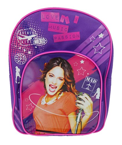 Disney Violetta Mochila Infantil 9 Litros, Violetta001008 Púrpura