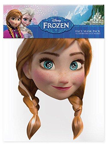 empireposter Anna – Frozen Masque en Carton Brillant Haute qualité en Carton avec Trous pour Les Yeux et élastique 30 x 20 CM