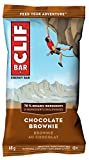 CLIF BAR - Energy Bars - Chocolate Brownie - (68 Gram Protein Bars, 12 Count)