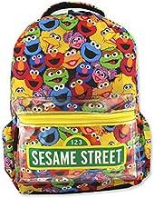 Sesame Street Gang Elmo Boys Girls Toddler 16 inch School Backpack (One Size, Multicolor)