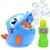 Kidzlane Bubble Machine – Bubble Blower Makes Big Bubbles...
