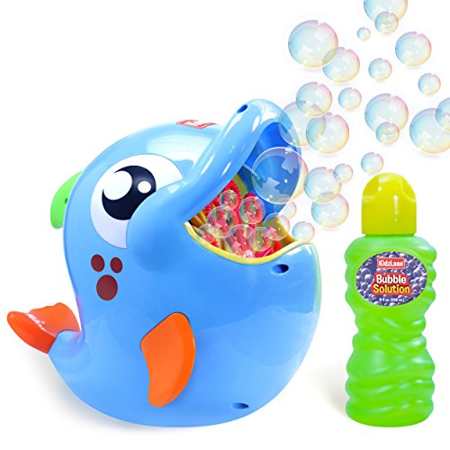 Kidzlane Bubble Machine - Bubble Machine for Toddler and Kids Outdoors - Automatic Bubble Maker 500 Bubbles per Minute - Battery Bubble Blower Machine thumbnail image