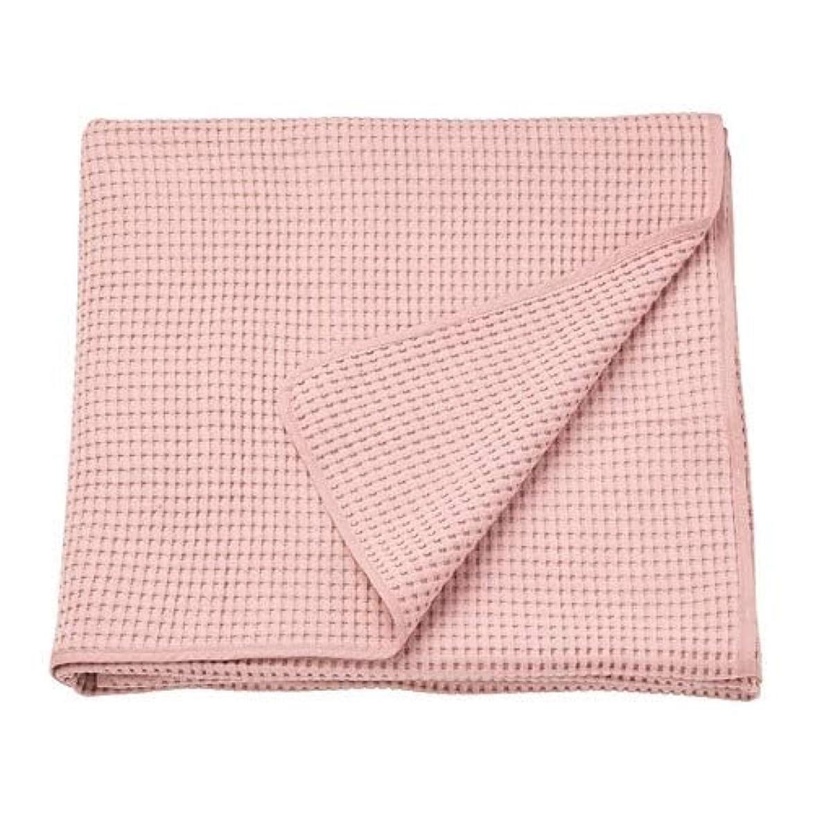 キノコ新年バーIKEA/イケア VARELD:ベッドカバー150×250cm ライトピンク (804.062.42)