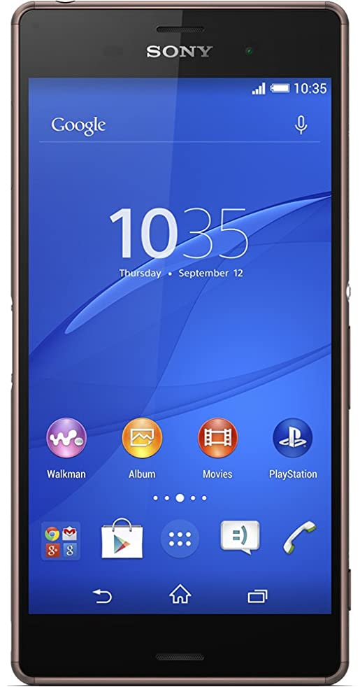 Sony Xperia Z3 Factory Unlocked Phone - Retail Packaging - Copper