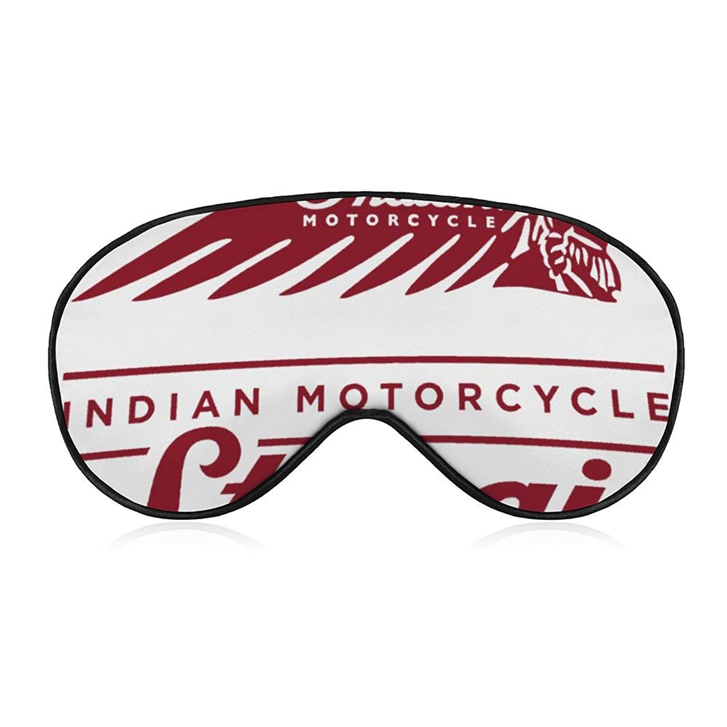 欺グリップ種をまくインディアン モーターサイクル(2) 女性男性ファッションライトブロックスリープアイマスク、柔らかく快適な目隠しアイカバー旅行/瞑想/シフト作業