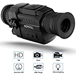 ACPOTEL Night Vision Monocular, 5 x 35 Digital Night Vision HD Scopes with Rechargeable/Take Photo/Video Recording/Playback Function for Outdoor/Surveillance/Security/Hunting/Hiking