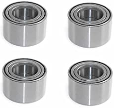 Iconic Racing Both Front and Rear Wheel Bearings Compatible with Arctic Cat ATV 1000 400 450 500 550 650 700
