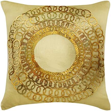 The HomeCentric Decorative Light Gold Euro Ranking TOP20 Max 72% OFF inch 65x Shams 26x26