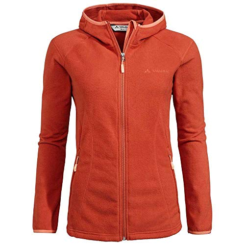 VAUDE Women's Rosemoor Hooded Jacket Veste Femme Hot Chili FR: Taille Unique (Taille Fabricant: 42)