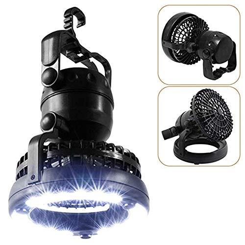 Z-ZH 2In1 Lampada da Campeggio Portatile Super Bright 18LED - con Ventilatore...