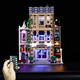 ZCXX Juego de luces LED compatibles con Lego 10278 estación de policía Lego, sin set