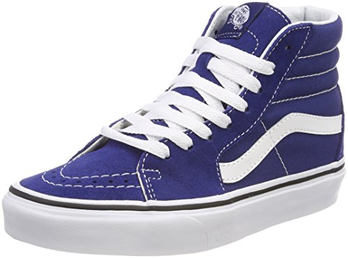 Vans Unisex-Erwachsene Sk8-hi Hohe Sneaker, Blau (Estate Blue/True White Q9w), 36 EU