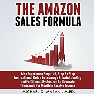 The Amazon Sales Formula audiobook cover art
