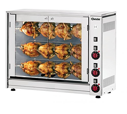 Bartscher elektrische kip grill P12N - 215037