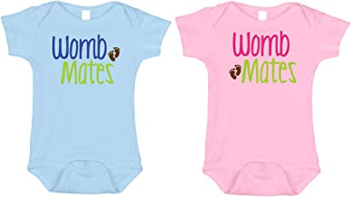 Bebe Bottle Sling, LLC Twin Baby Outfits, Adorable Gifts for Twins, 0 to 12 Months