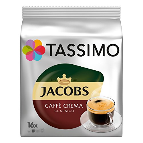 Bosch Jacobs Caffe Crema Classico 16 Kapseln T-Disk