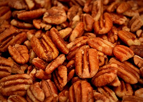 Unsprayed Sprouted 2 lb Raw Wild-Harvested Family Recipe Crispy Sea Salt Texas Native Pecans-Fresh Direct Ship