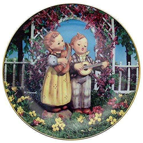 C1990Danbury (mint Hummel kleinen Begleiter Little Musiker Teller negr76