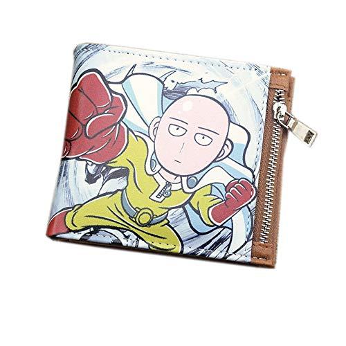 Gedruckte One-Punch Superman Anime Serie Short PU Leder Geldbörse Brieftasche