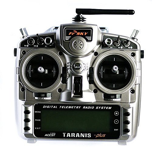 FrSky Taranis X9D Plus 2.4GHz Telemetry Radio & Aluminum Case Mode 2 Transmitter