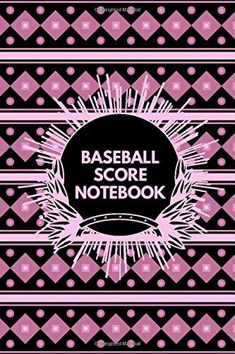 Baseball Score Notebook: Baseball Score Sheets, Baseball Score Pads, Scorekeeping Book, Scorecards, Record Scorekeeper Book Gifts for Baseball Team, ... with 110 Pages. (Baseball Scorebook, Band 41)