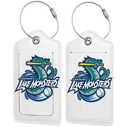 ZSMJ Tennessee Smokies - Etiqueta de equipaje de piel, accesorios de viaje, etiquetas para maleta, identificadores, tarjeta de identificación de negocios, 2 unidades