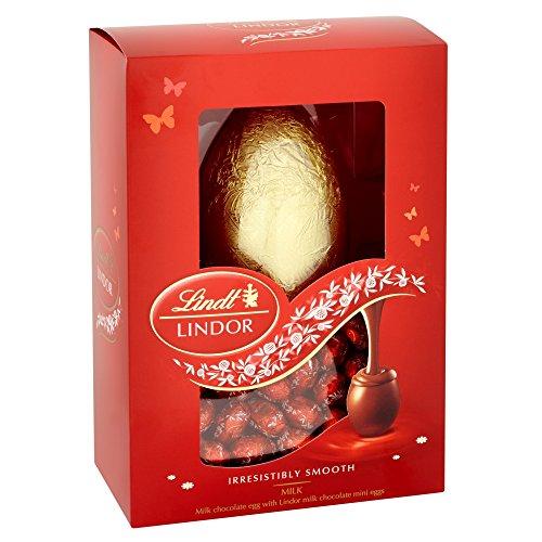Uovo di cioccolato al latte Lindt Lindor con uova al cioccolato al latte Lindor 215g
