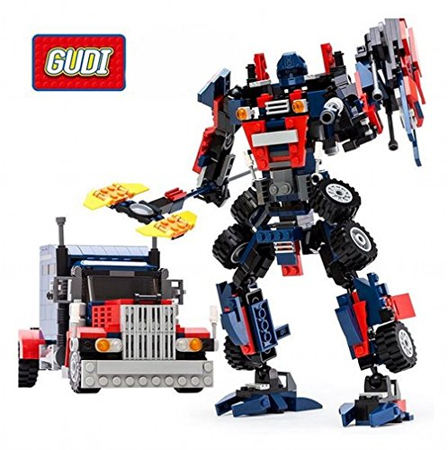 GUDI TRANSFORMADOR SET DE CONSTRUCCIÓN OPTIMUS PRIME