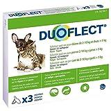 Ceva Duoflect - Soluzione Anti-pulci/pidocchi/zecche, per Gatto/Cane (Confezione da 3 Pipette)
