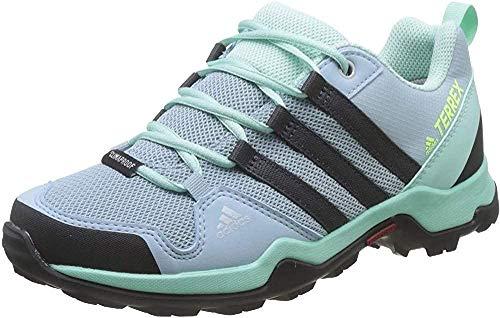 adidas Terrex Ax2r CP K, Zapatillas de Marcha Nórdica Unisex Niños, Multicolor (Gris/Carbono/Menta), 34 EU