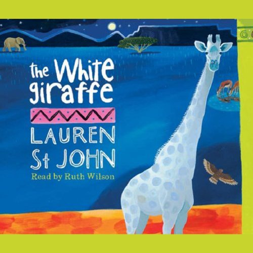 The White Giraffe audiobook cover art