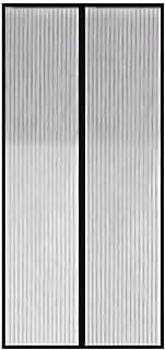 Nickel Stripe Pattern, Grey - Doors Curtains